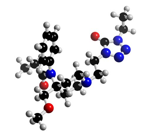 Picture of Alfentanil 3D model
