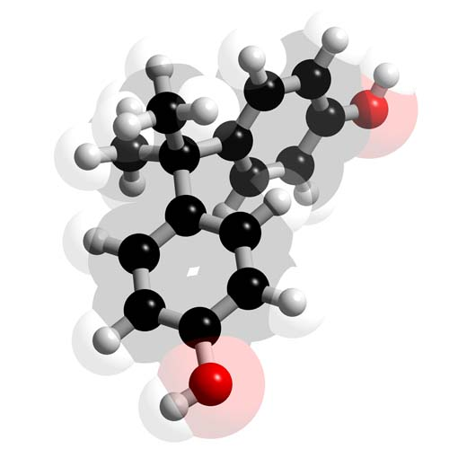 Picture of Bisphenol A 3D model