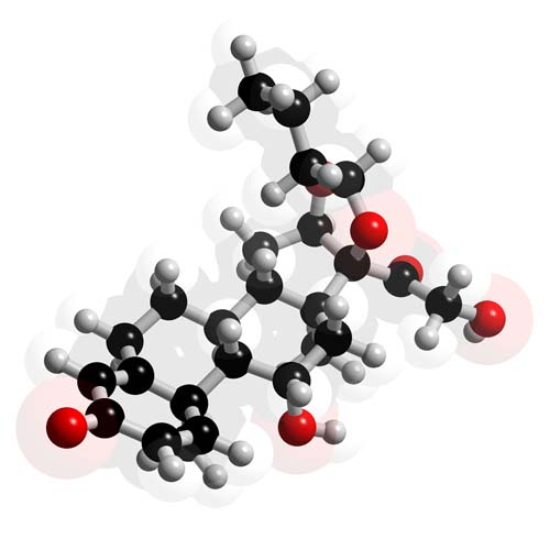 Picture of Budesonide 3D model