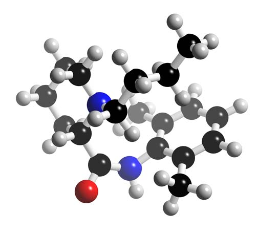 Picture of Bupivacaine 3D model