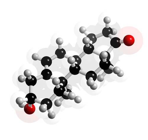 Picture of Dehydroepiandrosterone 3D model