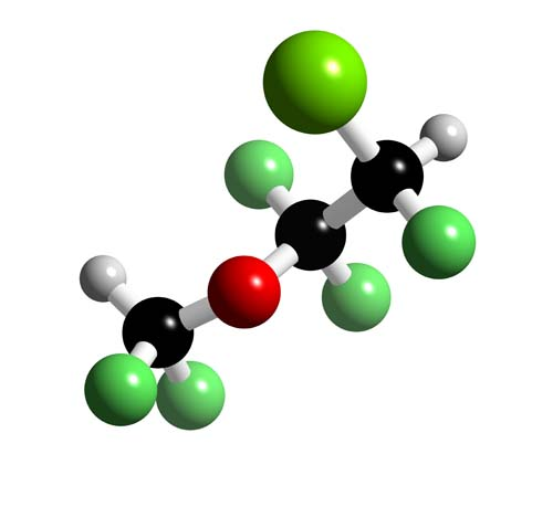 Picture of Enflurane 3D model