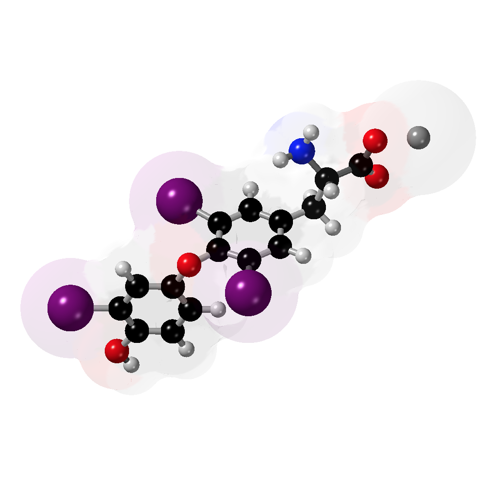 Picture of Liothyronine 3D model