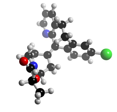Picture of Loratadine 3D model