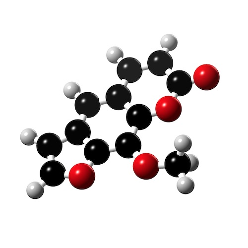 Picture of Methoxypsoralen 3D model