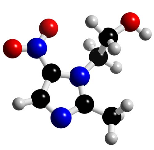 Picture of Metronidazole 3D model