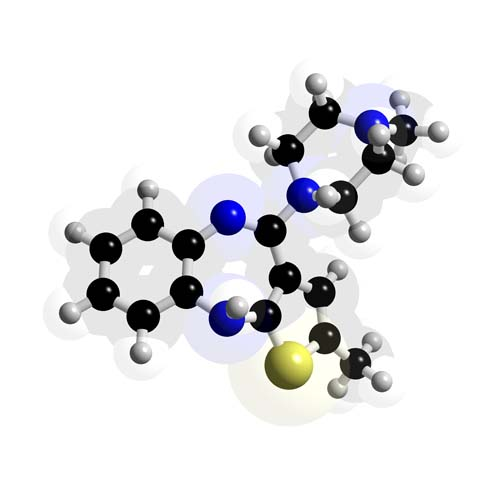 Picture of Olanzapine 3D model