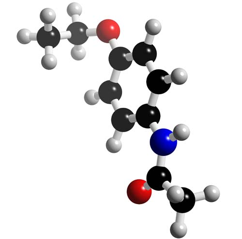 Picture of Phenacetin 3D model