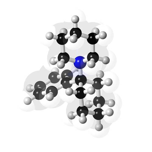Picture of Phencyclidine 3D model