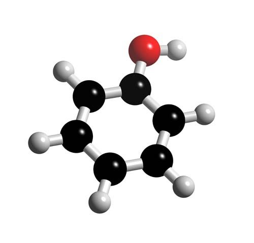 Picture of Phenol 3D model
