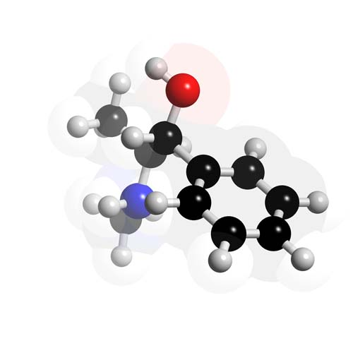 Picture of Pseudoephedrine 3D model