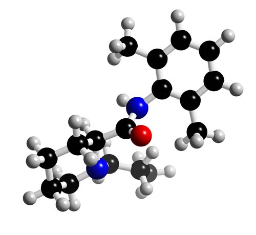 Picture of Ropivacaine 3D model