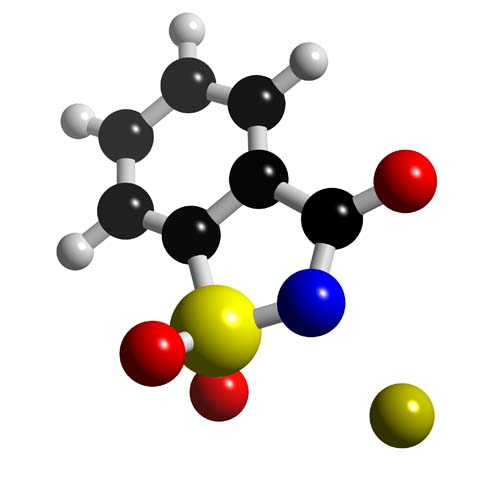 Picture of Saccharin 3D model