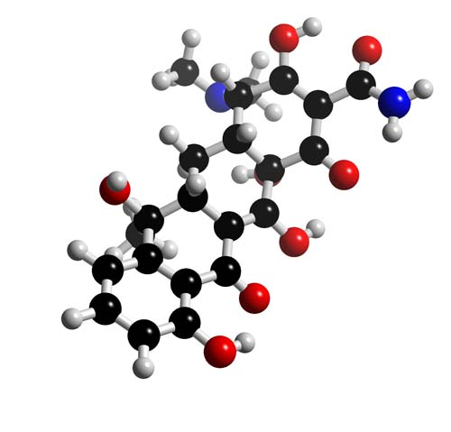 Picture of Tetracycline 3D model