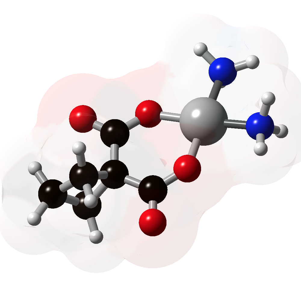 Picture of Carboplatin 3D model