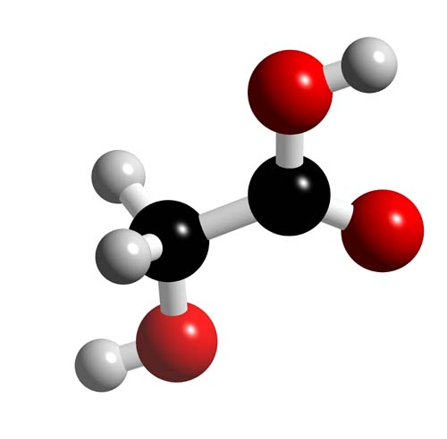 Picture of Glycolic acid 3D model