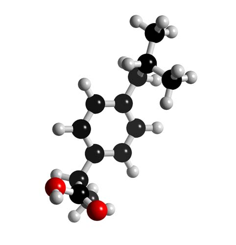 Picture of Ibuprofen 3D model