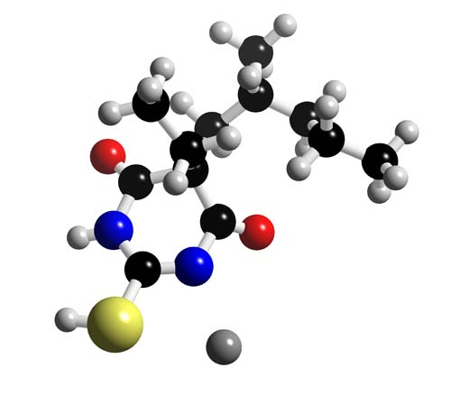 Picture of Sodium thiopental 3D model