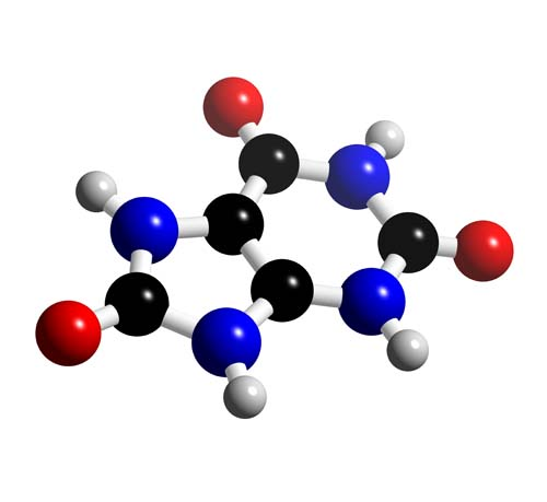 Picture of Uric acid 3D model